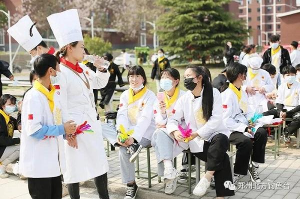 郑州钓鱼台烹饪学校踢毽子比赛圆满结束!